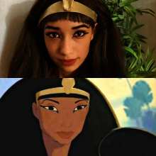 leira cosplay queen tuya prince of egypt