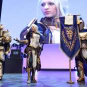 osanguine Jaina Proudmoore wow cosplay gamescom 2018