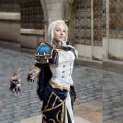 osanguine Jaina Proudmoore wow cosplay photo by amarhaak