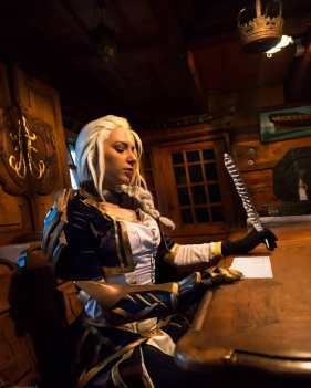 osanguine Jaina Proudmoore wow cosplay photo by amarhaak3