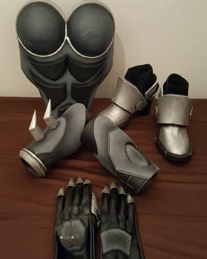Osanguine overwatch reaper cosplay craft2