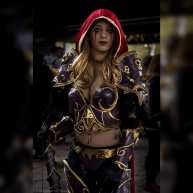 Osanguine sylvanas cosplay wow Leo photo cosplay