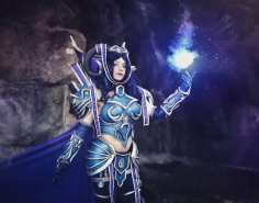 Osanguine Tarecgosa wow cosplay by Cinderys_art photo nyaonyao