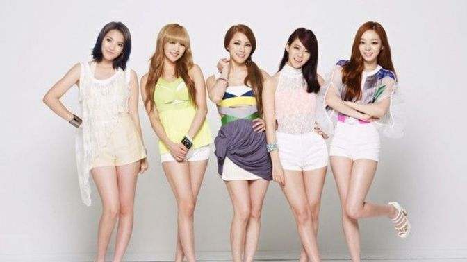 goo hara girls band